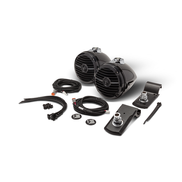 Picture of Rockford Fosgate Add-on Rear Speaker Kit for use with RNGR-STAGE2 and RNGR-STAGE3 Kits