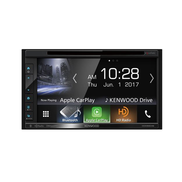 Picture of Kenwood 2-Din Monitor Receiver with Bluetooth &