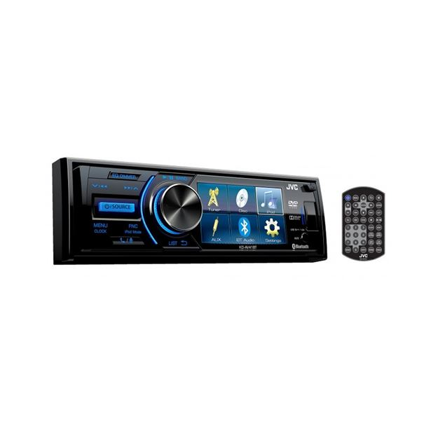 Picture of JVC 1-DIN AV Receiver