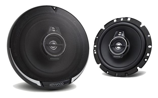 "Kenwood 6 3/4"" Round 3-Way 3 Speaker"