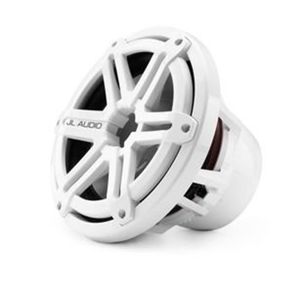 Picture of M10W5-SG-WH: 10-inch (250 mm) Marine Subwoofer Driver, White Sport Grille, 4 Ω
