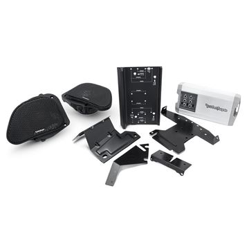 Picture of Rockford Fosgate Harley-Davidson® Road Glide® Front Audio Kit (1998-2013)