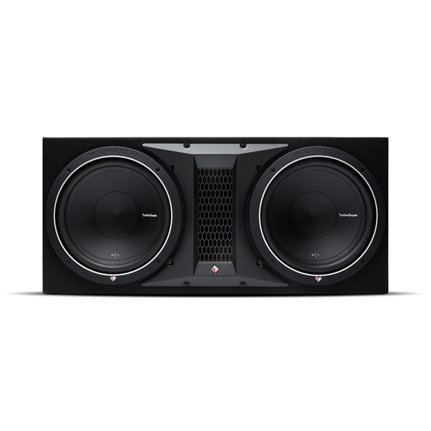 "Picture of Rockford Fosgate Punch Dual P1 12"" Loaded Enclosure P1-2X12"