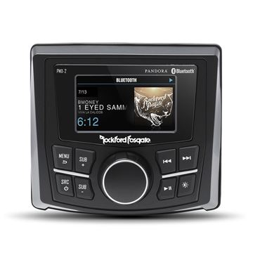 "Picture of Rockford Fosgate Punch Marine Compact AM/FM/WB Digital Media Receiver 2.7"" Display"