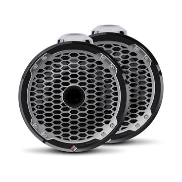 "Picture of Rockford Fosgate Punch Marine 8"" Wakeboard Tower Speaker - Horn Tweeter - Black PM282HW-B"