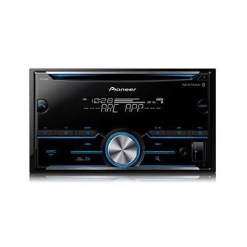 Picture of Pioneer FH-S500BT Double DIN CD Receiver with Improved Pioneer ARC App Compatibility, MIXTRAX®, Built-in Bluetooth®
