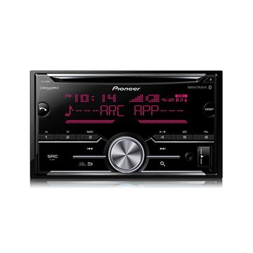 Picture of Pioneer FH-S700BSDouble DIN CD Receiver with Enhanced Audio Functions, Improved Pioneer ARC App Compatibility, MIXTRAX®, Built-in Bluetooth®, and SiriusXM-Ready™