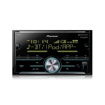 Picture of Pioneer MVH-S600BSDouble DIN Digital Media Receiver with Enhanced Audio Functions, Improved Pioneer ARC App Compatibility, MIXTRAX®, Built-in Bluetooth®, and SiriusXM-Ready™