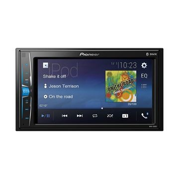 "Picture of Pioneer MVH-200EX 6.2"" Double-DIN In-Dash Digital Media & A/V Receiver with Bluetooth"