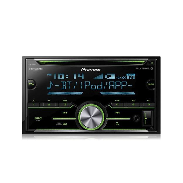 Picture of Pioneer FH-S701BS Double DIN CD Receiver with Enhanced Audio Functions, Improved Pioneer ARC App Compatibility, MIXTRAX®, Built-in Bluetooth®, and SiriusXM-Ready™