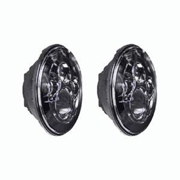 Picture of JEEP 7 INCH ROUND 6-LED HEADLIGHT SET