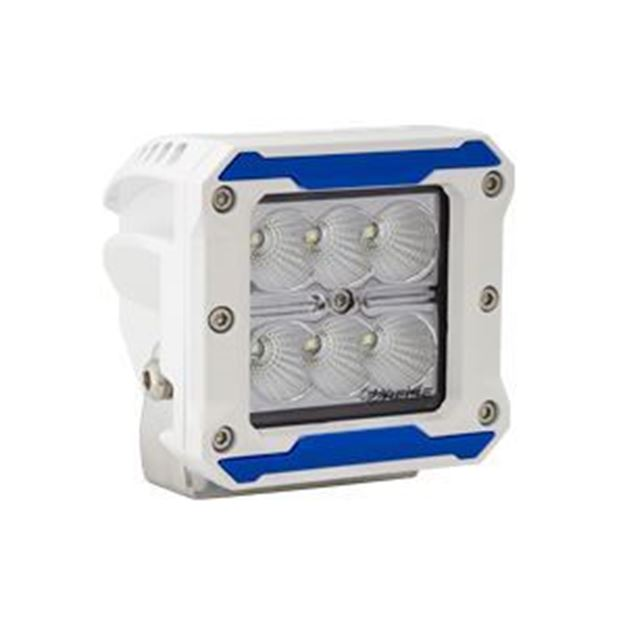 "Picture of 3"" - 6 LED Marine Cube Light - Flood Beam"