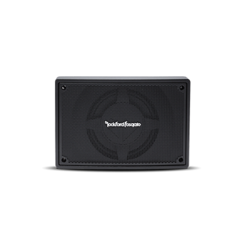 "Rockford Fosgate Punch Single 8"" Amplified Loaded Enclosure"