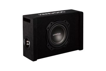 "Kenwood 8"" Oversized Subwoofer in Ported Enclosure"