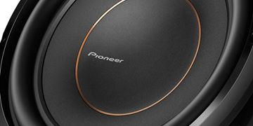 "Pioneer 10"" Dual 2 ohms Voice Coil Subwoofer"