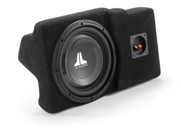 JL Audio SB-GM-HUMRH3/10W1v3: Stealthbox® for 2006-2010 Hummer H3
