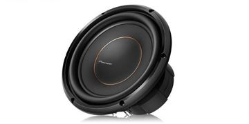 "Pioneer 10"" Dual 4 ohms Voice Coil Subwoofer"