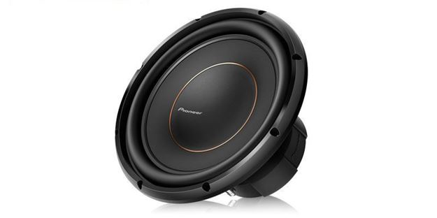 "Pioneer 12"" Dual 4 ohms Voice Coil Subwoofer"
