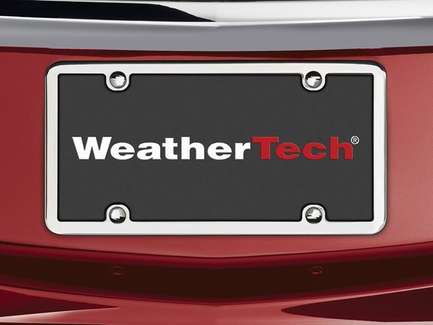 WeatherTech Stainless Frame