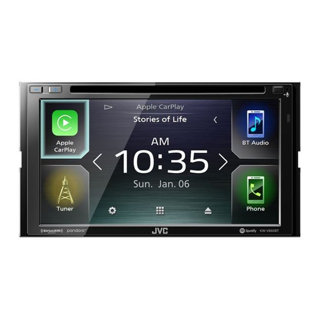 "Picture of JVC 6.8"" DVD Receiver KW-V850BT"